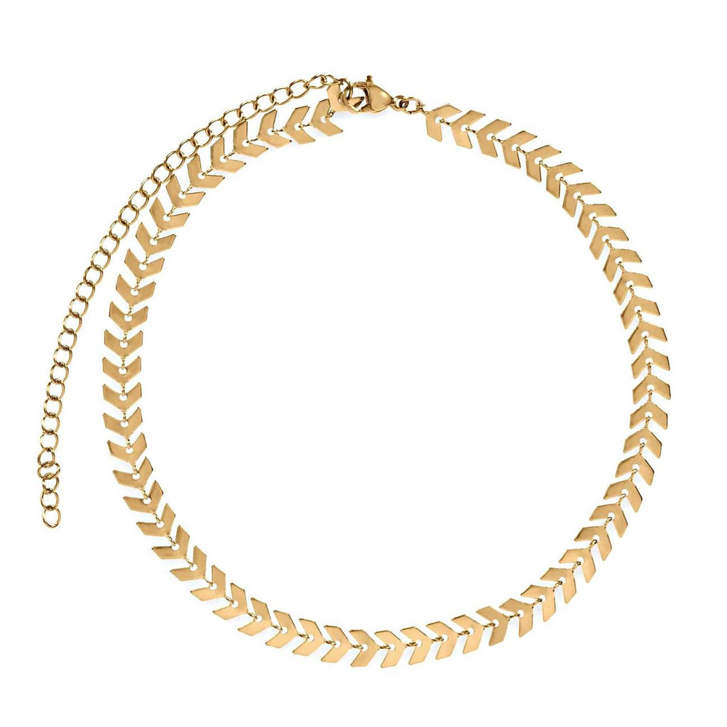 Talia Fishbone Necklace
