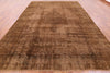 "Overdyed Persian Kerman Rug - 9' 10"" X 13' 2"" - Golden Nile"