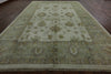 10 X 15 Oushak Hand Knotted Rug - Golden Nile