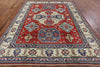 Hand Knotted Tribal Kazak 8 X 11 Oriental Rug - Golden Nile