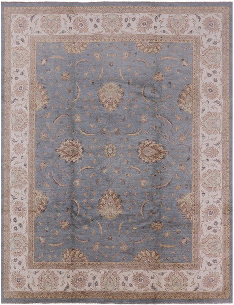 Blue Oriental Chobi Area Rug 8 X 10 - Golden Nile