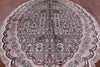 Oval Persian Kashan Silk Rug - 7' X 10' - Golden Nile