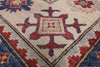 "Kazak Hand Knotted Rug - 10' 7"" X 13' 4"" - Golden Nile"