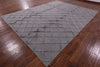 "Kilim Flat-Weave Wool Area Rug - 9' 1"" X 12' - Golden Nile"