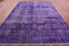 Purple Overdyed Hand Knotted Rug 10 X 12 - Golden Nile