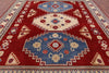 "Kazak Hand Knotted Rug - 9' 3"" X 11' 4"" - Golden Nile"