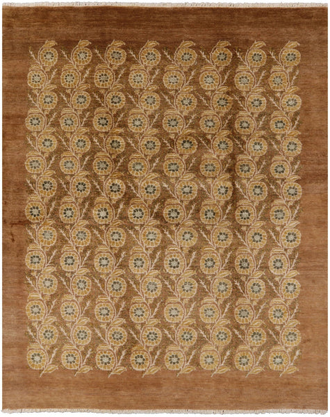 "Gabbeh Handmade Area Rug - 7' 10"" X 9' 9"" - Golden Nile"