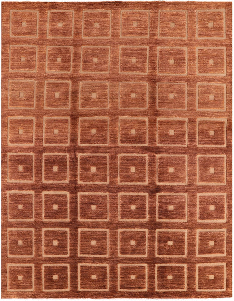 "Gabbeh Hand Knotted Area Rug - 8' 1"" X 10' 5"" - Golden Nile"
