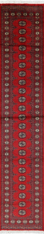 One Of A Kind 3 X 13 Bokhara Area Rug