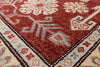 "Kazak Wool Area Rug - 3' 4"" X 5' - Golden Nile"