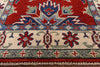 Super Kazak Hand Knotted Runner 3 X 11 - Golden Nile