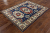 5 X 6 Oriental Super Kazak Hand Knotted Rug - Golden Nile