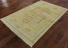 Modern Gabbeh 4 X 6 Area Rug - Golden Nile