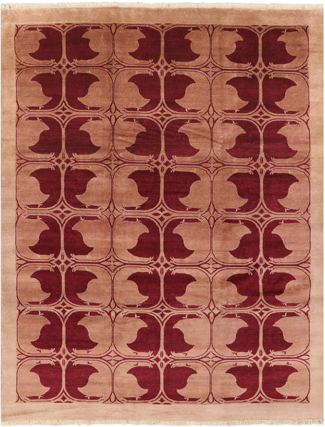 "Gabbeh Hand Knotted Area Rug - 8' 2"" X 10' 5"" - Golden Nile"