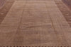 8 X 10 Brown Modern Gabbeh Area Rug - Golden Nile