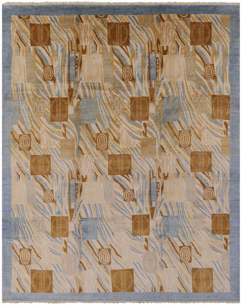 Blue Oriental Gabbeh Rug 8 X 10 - Golden Nile
