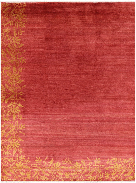"Gabbeh Hand Knotted Wool Rug - 7' 5"" X 9' 10"" - Golden Nile"