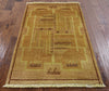 Navajo Design Gabbeh Wool Area Rug 3 X 5 - Golden Nile
