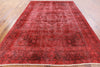 Oriental Overdyed Wool Area Rug 8 X 12 - Golden Nile