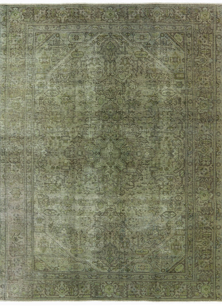 Oriental Overdyed Rug 8 X 11 - Golden Nile