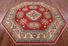 "Octagon Kazak Area Rug - 7' 9"" X 7' 10"" - Golden Nile"