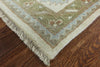 Oriental Oushak Wool Area Rug 9 X 12 - Golden Nile