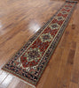 Heriz Serapi Hand Knotted Runner 3 X 20 - Golden Nile
