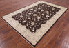 "Chobi Peshawar Wool Area Rug - 6' X 8' 10"" - Golden Nile"