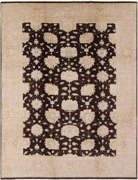 "Chobi Peshawar Wool Area Rug - 10' 1"" X 13' 1"" - Golden Nile"