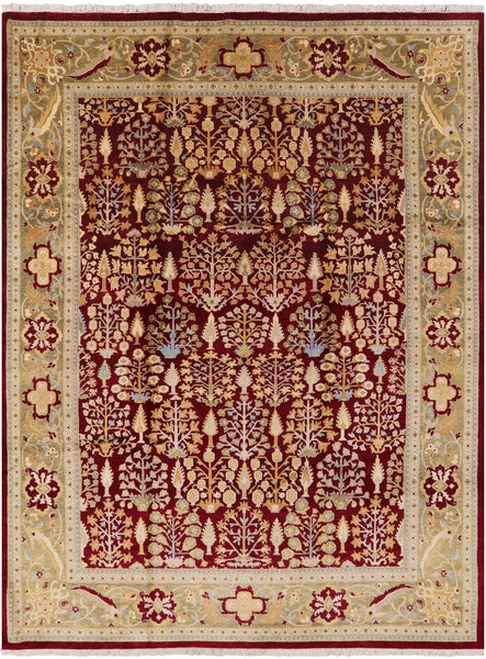 "Ziegler Hand Knotted Area Rug - 8' X 10' 5"" - Golden Nile"