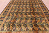 "William Morris Hand Knotted Wool Area Rug - 8' 10"" x 12' 5"" - Golden Nile"