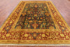 "Chobi Hand Knotted Wool Area Rug - 8' 10"" X 11' 8"" - Golden Nile"