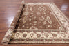"Peshawar Hand Knotted Area Rug - 8' X 9' 7"" - Golden Nile"