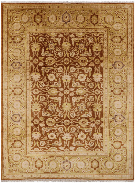 "Peshawar Hand Knotted Wool Rug - 10' 2"" X 13' 10"" - Golden Nile"
