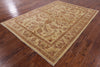 "Traditional Chobi Peshawar Rug - 5' 7"" X 7' 10"" - Golden Nile"
