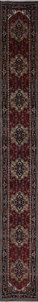 Serapi 2 X 20 Hand Knotted Oriental Rug - Golden Nile