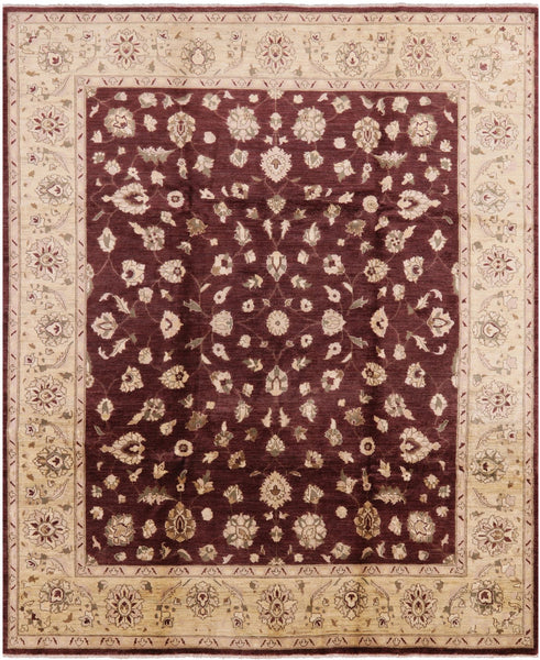 "Peshawar Hand Knotted Rug - 8' 3"" X 9' 10"" - Golden Nile"
