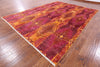"Ikat Handmade Wool Area Rug - 8' 10"" X 12' 3"" - Golden Nile"