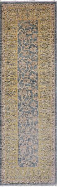 "Fine Serapi Runner Rug - 3' 2"" X 9' 9"" - Golden Nile"