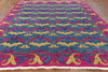 8 X 10 Art Deco Collection Oriental Wool Area Rug - Golden Nile