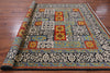 "William Morris Hand Knotted Wool Area Rug - 8' 3"" X 10' 6"" - Golden Nile"