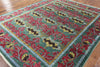 Modern William Morris Design Oriental Wool Rug 8 X 10 - Golden Nile