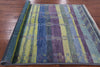 6 X 9 Modern Ikat Hand Knotted Navajo Oriental Wool Rug -  Golden Nile
