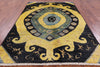 "Arts & Crafts Handmade Wool Area Rug - 6' 3"" X 9' - Golden Nile"