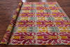 "Ikat Hand Knotted Area Rug - 7' 10"" X 9' 10"" - Golden Nile"