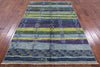 "Signed Moroccan Southwest Navajo Handmade Area Rug - 5' 4"" X 8' 2"" - Golden Nile"