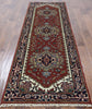 Hand Knotted Heriz Serapi 3 X 8 Area Rug - Golden Nile