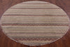Oriental Savannah Grass Round Rug 8 X 8 - Golden Nile