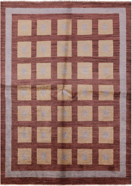 "Gabbeh Area Rug - 5' 8"" X 7' 10"" - Golden Nile"