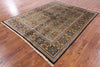 "Tabriz Hand Knotted Rug - 6' 1"" X 7' 9"" - Golden Nile"